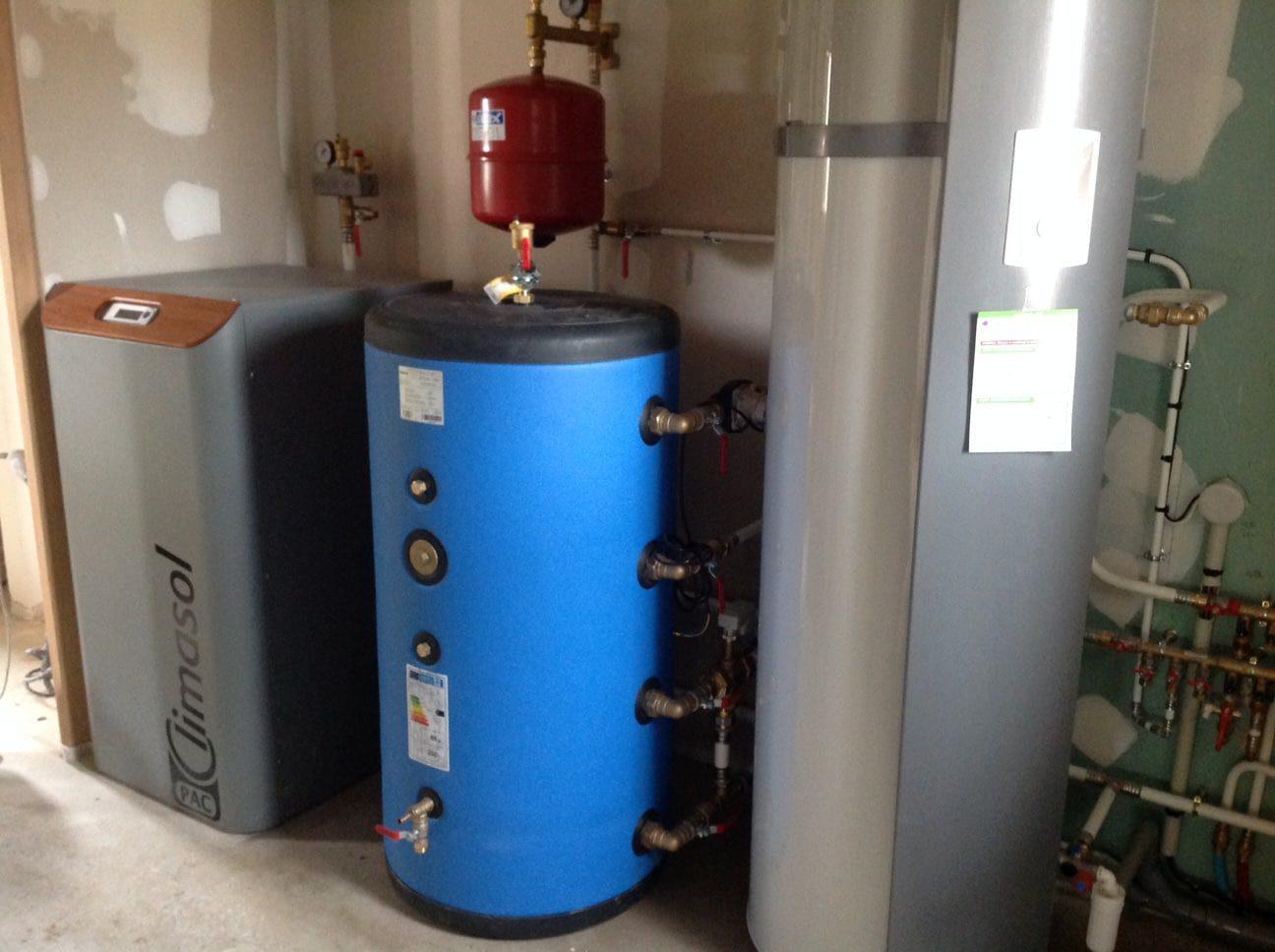 Chauffe eau par géothermie
