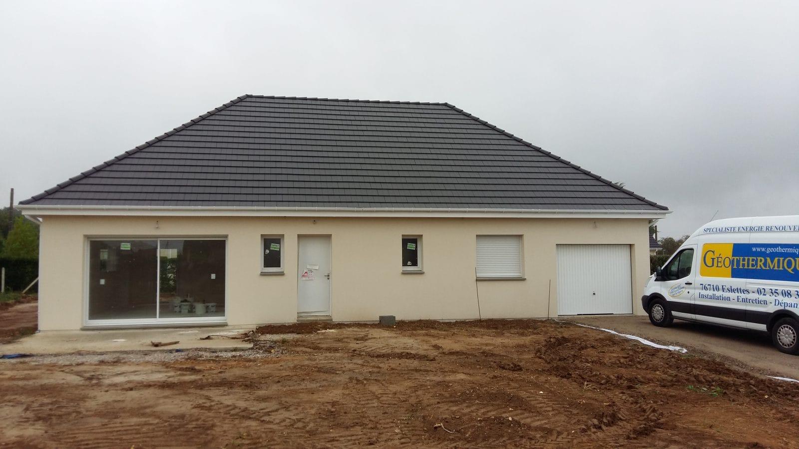Construction maison avec aérothermie