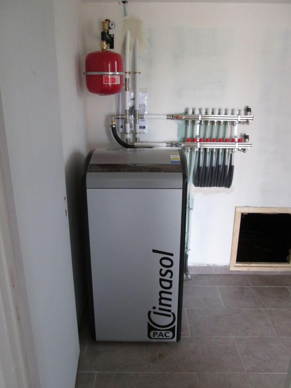Chauffage géothermie par capteur horizontal