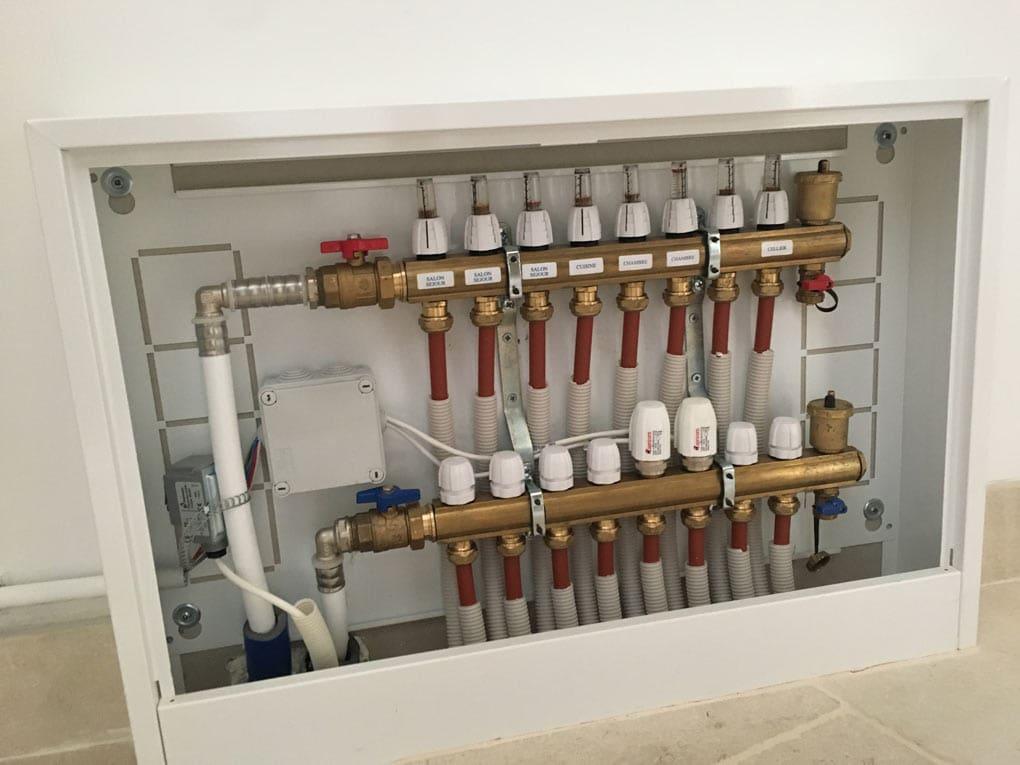 Chauffage aérothermie pour une maison neuve