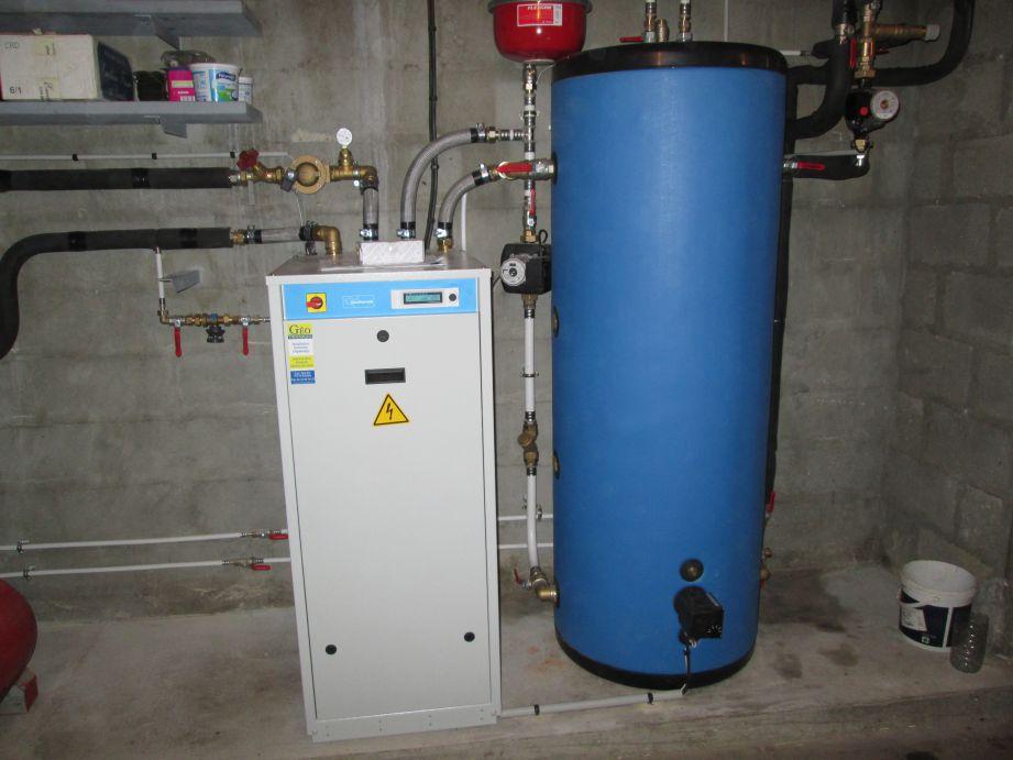 Chauffage géothermie + ECS + Ballon tampon