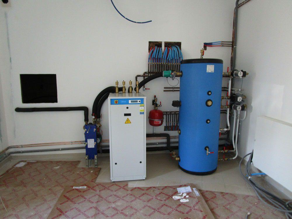 Chauffage géothermie