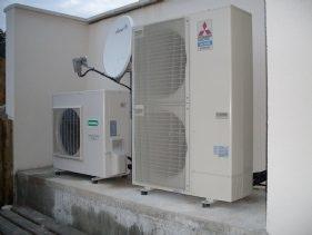 Pompe extérieur Système Aérothermique