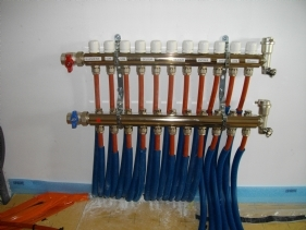 Branchement tuyaux Système Aérothermique