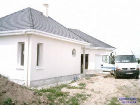 Vue extérieur maison