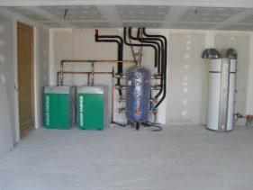 Système branchement Géothermique
