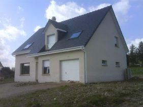 Maison vue extérieur