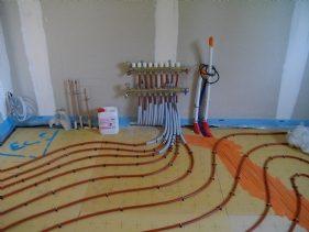 Branchement sol Système Géothermique