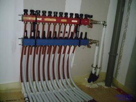 Branchement Tuyaux Système Géothermique