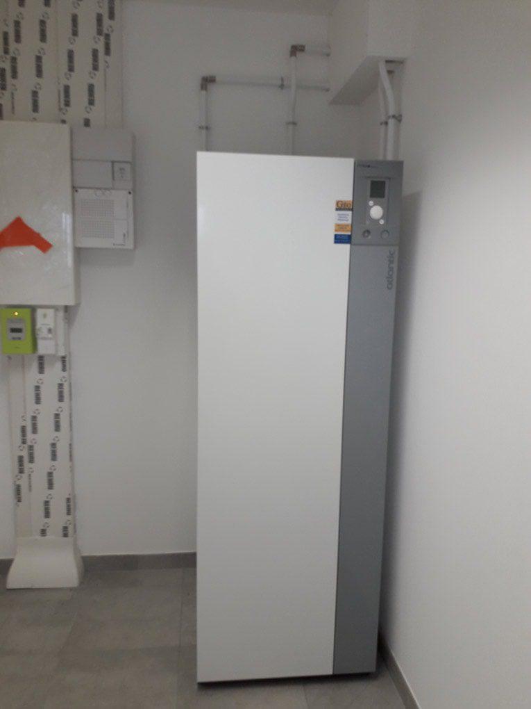 Installation chauffage aérothermie Ferrières-Haut-Clocher