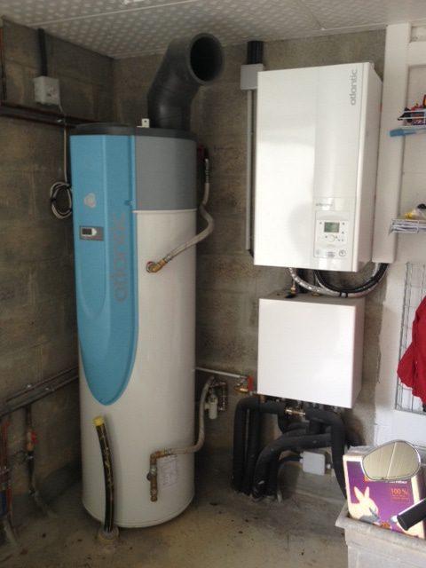 Pompe à chaleur extensa 16 + Chauffe-eau thermodynamique